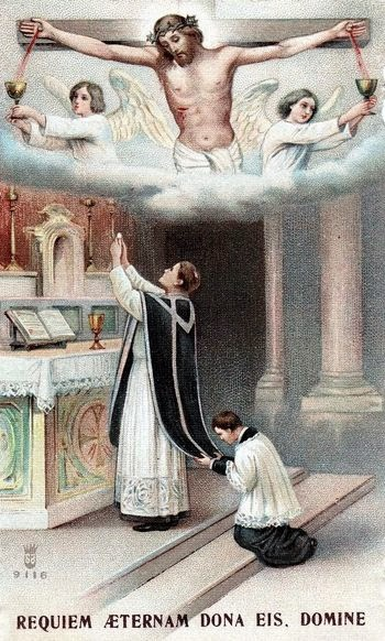 November List for the Holy Souls in Purgatory