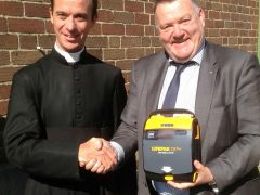 Our Public Access Defibrillator replaced