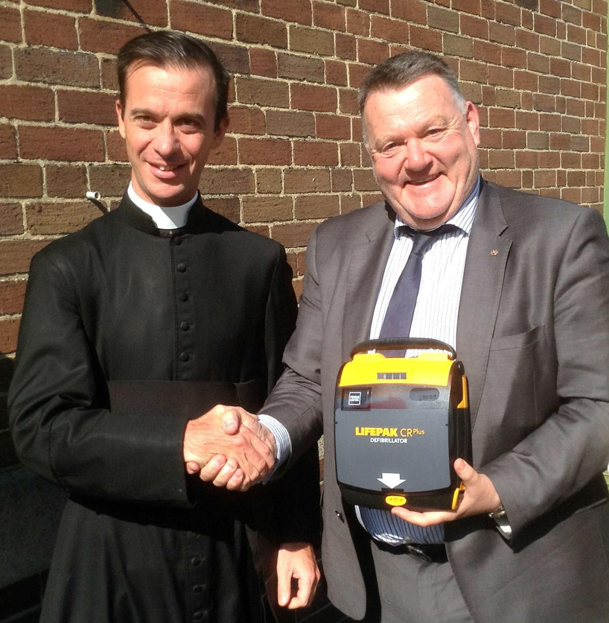 Our Public Access Defibrillator replaced