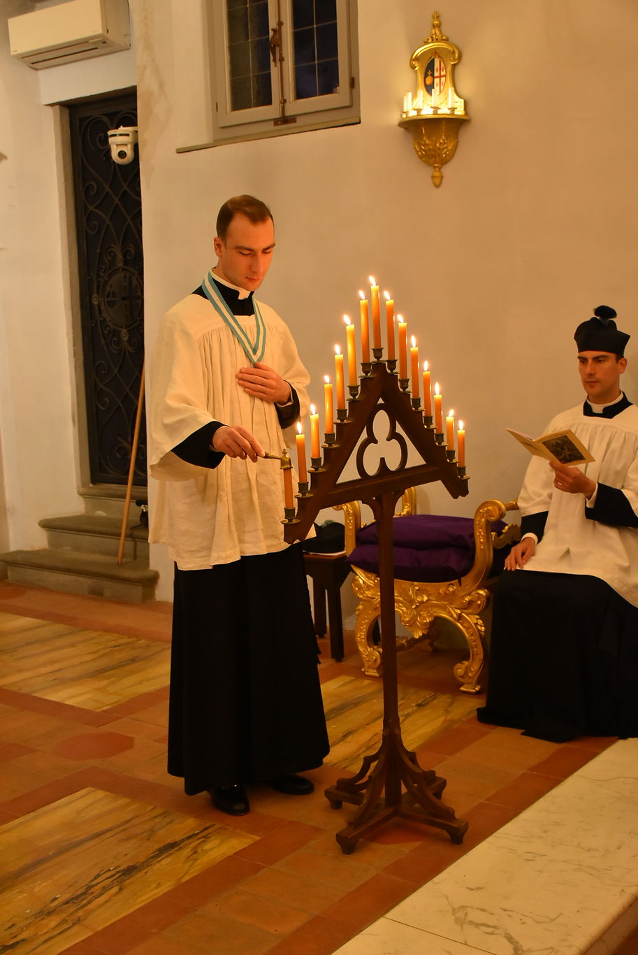 Holy Week at the Seminary