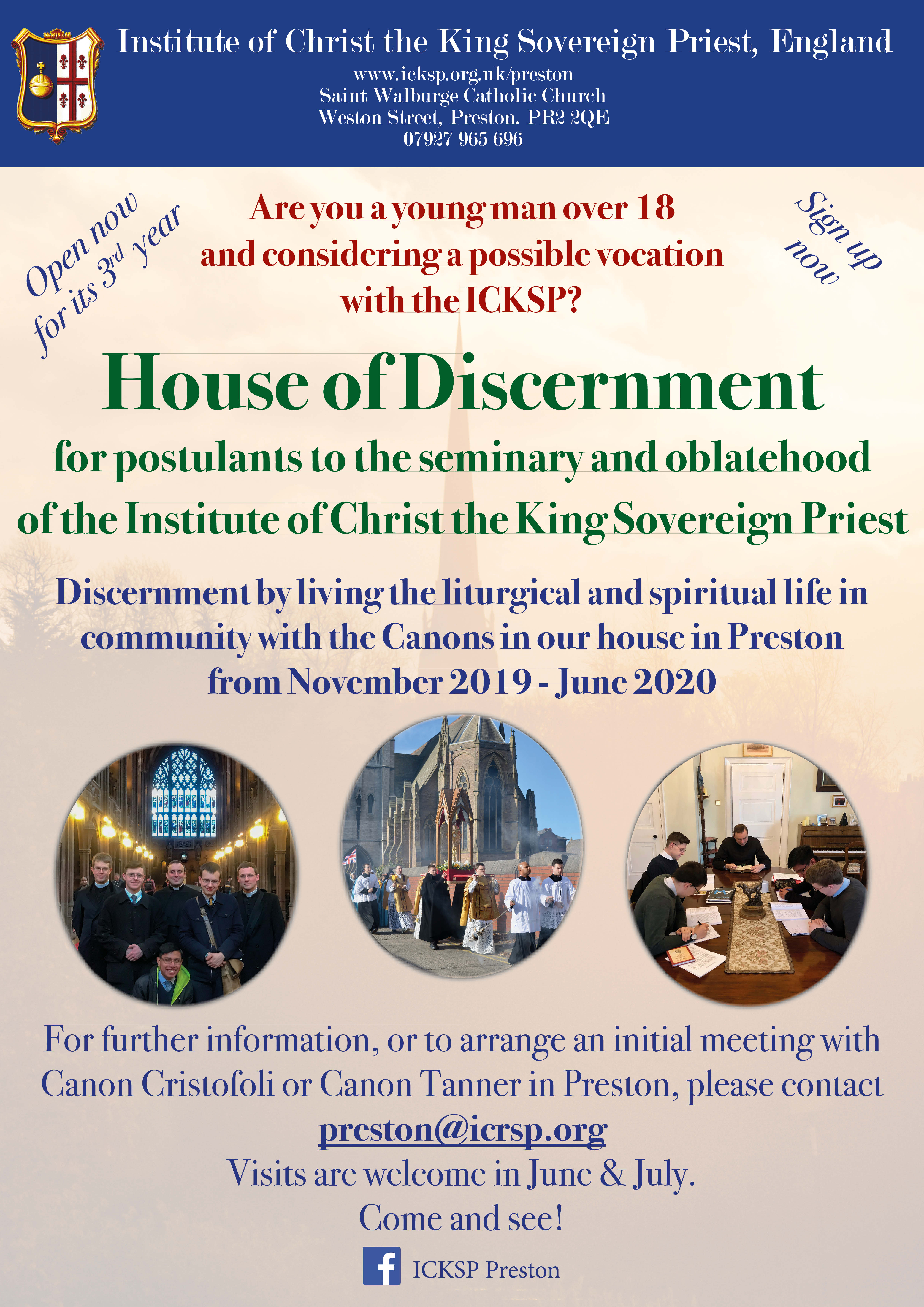 Discernment House continues for its 3rd year