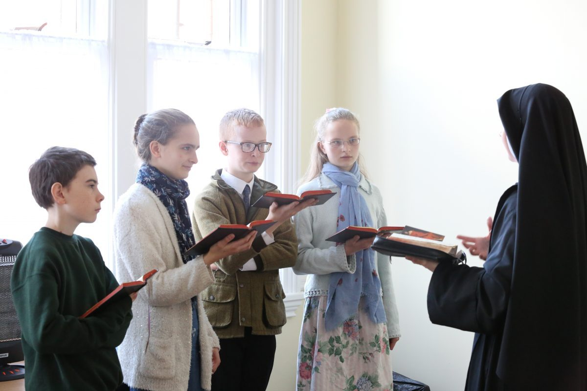 Teaching Chant at St Benedict's – an Interview