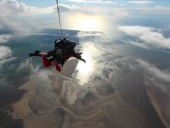 Sponsor a parachuting priest! £5000 needed!