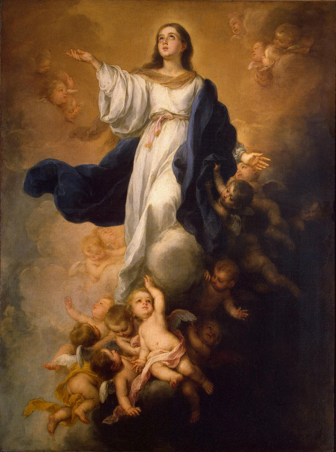 The Assumption of the Blessed Virgin Mary at Shrewsbury