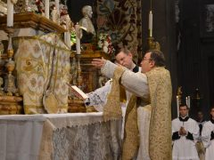 CHRIST THE KING CELEBRATED AT THE MOTHERHOUSE