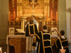REQUIEM MASS FOR ABBOT EMERITUS OF FONTGOMBAULT